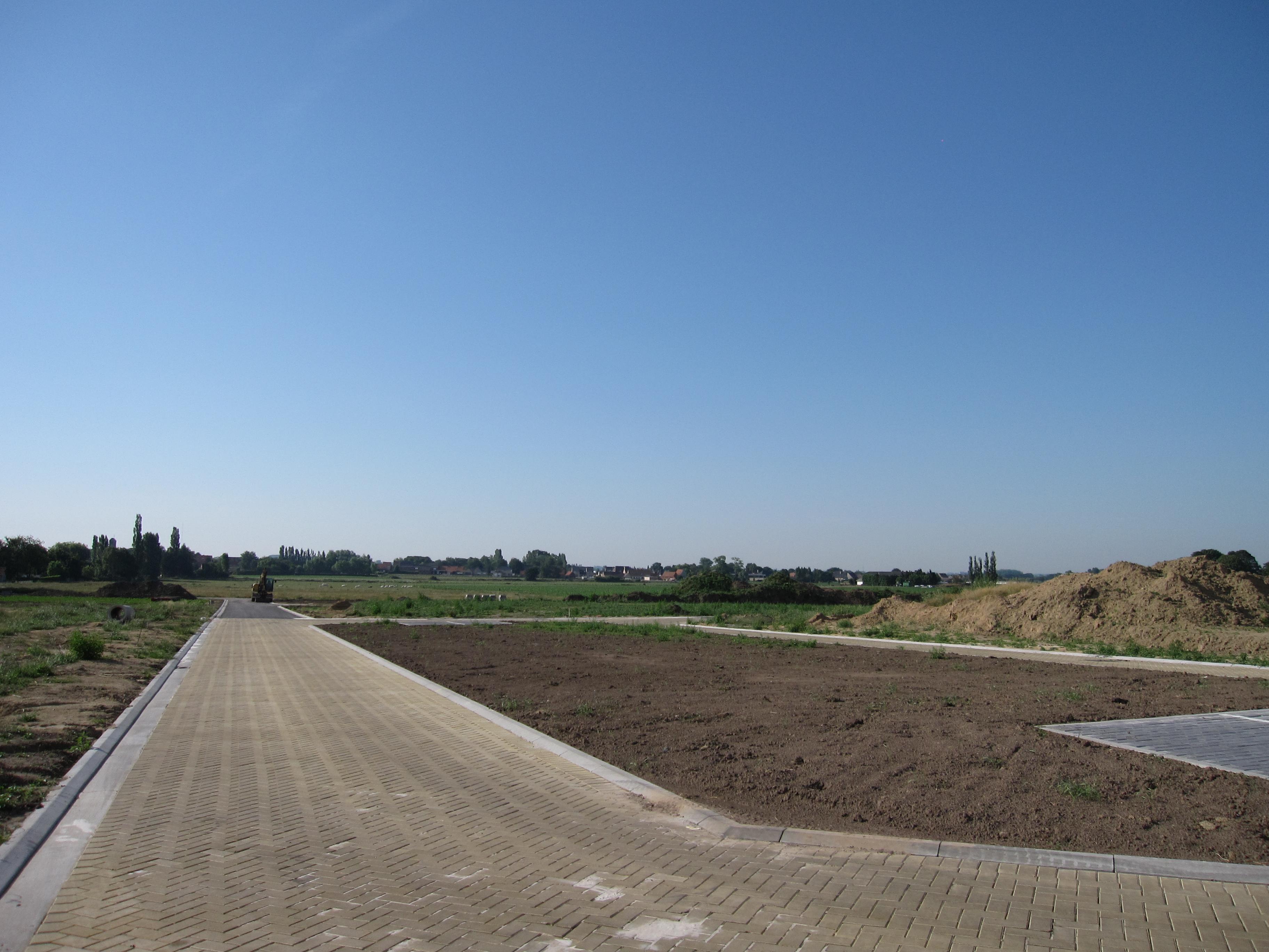 bouwgrond te koop in de verkaveling vrijgeweidestraat in